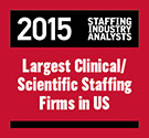 Staffing Industry Analysts 2015 Largest U.S. Clinical and Scientific Staffing Firms
